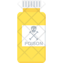 Poison Halloween Chemical Icon