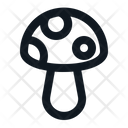 Poisonous Mushroom Icon