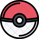 Pokeball Games Video Icon