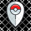 Location Pokemon Pokeball Icon