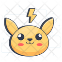 Pokemon Cartoon Character Pikachu Icon