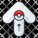 Pokemon Go Arrow Icon