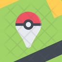 Pokemon Location Icon Vector Icon