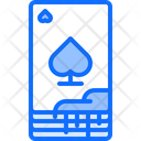 Cards Blood Gambling Icon