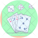 Poker Card Game Casino Icon