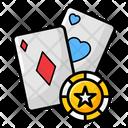 Ace Of Heart Poker Gambling Icon
