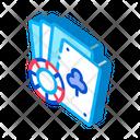 Gambling Luck Card Icon