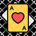 Poker Card Game Gambling Icon