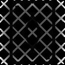 Poker Diamond Play Icon