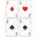 Poker Cards Casino Icon