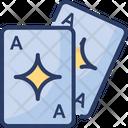 Poker Gamble Card Icon