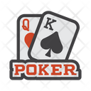 Poker Baccarat Blackjack Icon