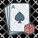 Cards Casino Gambling Icon