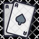 Poker Card Casino Gambling Icon