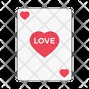 Love Playingcard Romance Icon