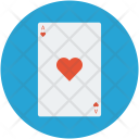 Poker Card Heart Icon