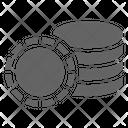 Poker chip Icon