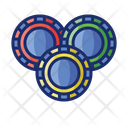 Poker Chips Poker Chip Icon
