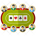 Poker Club Gambling Club Gambling Icon