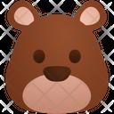 Poker Face Emoji Sticker Icon