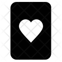 Poker heart Icon