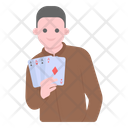 Poker Player Cards Playing Player Icon