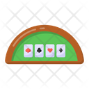 Casino Table Poker Table Poker Game Icon