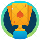 Poker Trophy Icon