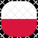 Poland Polish Country Icon