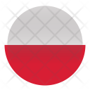 Poland National Country Icon