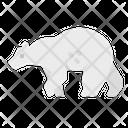 Polar Bear Animal Icon