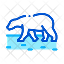 Polar Bear Antarctic Icon