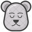 Polar Bear Face Bear Head Emoji Icon