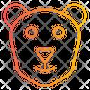 Polar Bear Bear Face Icon