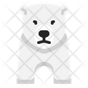 Polar Bear Bear Icepole Icon