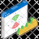 Polar Diagram Polar Chart Infographic Icon