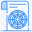 Polar Diagram Polar Plot Data Analytics Icon