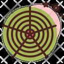 Polar Grid Polar Grid Circle Grid Icon