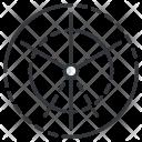 Polar Grid Design Icon