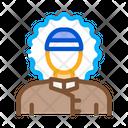 Polar Man Antarctic Icon