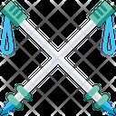 Pole Running Poles Competetion Icon
