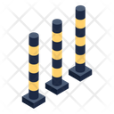 Pole Barriers Barriers Poles Icon