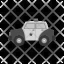 Police Car Cop Icon