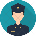 Police Security Avatar Icon