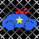 Police Car Transport Icon