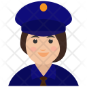 Avatar Police Woman Icon
