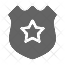 Police Badge Sergeant Icon