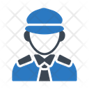 Police Officer Man Icon