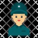 Police Guard Female Icon