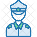 Police Cop Inspeator Icon